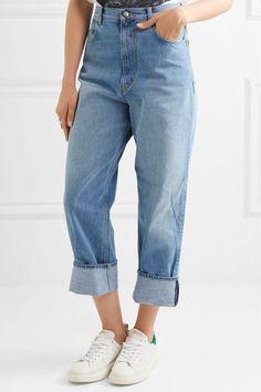 Golden Goose Deluxe Brand - Kim High-rise Straight-leg Jeans - Light denim - 31