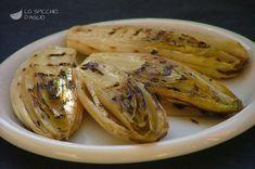 Cicoria belga grigliata