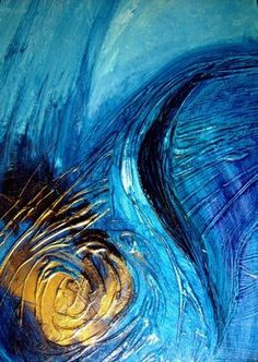 Saatchi Online Artist Andrea Ehret; Painting, Ode to the sea #art