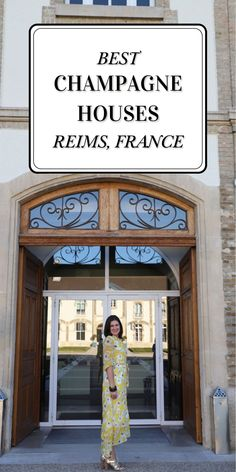 Interested in taking a future trip to France? You're definitely going to want to put Reims, France on your list. What's not to love? Beautiful scenery, amazing people and delicious wines. Follow along on my blog for the Best Champagne Houses to Visit in Reims, France. Beautiful Scenery, Beautiful Places, West Coast Cities, Best Champagne, Famous Wines, New West, Amazing People, Best Cities, France Travel