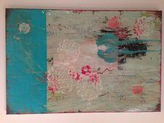 "(Existing) kathe fraga painting ""love birds"""