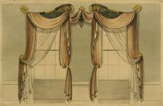 EKDuncan - My Fanciful Muse: Regency Era Curtains - Ackermann's Repository