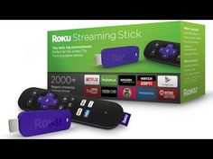 [VIDEO] The Roku Streaming Stick (HDMI Version) fits its perfectly behind wall mounted TVs. Control with your smartphone or included remote.