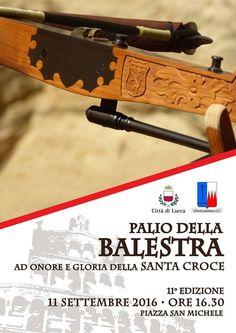 Italia Medievale: Palio della Balestra ad Onore e Gloria della Santa Croce