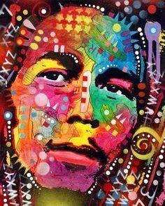 Bob Marley by Dean Russo Art