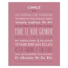 Jolie Cérémonie, fond blush, tableau décoratif, Mes Mots Déco