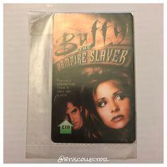 Buffy the Vampire Slayer - Prepaid Phone Card. #btvscollector #btvs #buffy #buffythevampireslayer