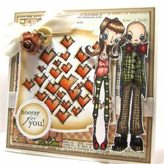 Quite the Couple by Cheryl - Cards and Paper Crafts at Splitcoaststampers