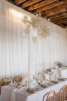 Dreamy tablescapes featuring a hanging Babies Breath and Annual Honesty (Lunaria) installation featuring ceramic serve-wear, neutrals tones, linen, white florals and coral!! Adore the little details in this. Styling, design and florals @two_foxes_styling Linen @tble.linen.hire Tableware, ceramics, chairs and cutlery @twofoxesrentals Stationary @justmytype_nz Candles @blackblazesydney  #lunaria #floralcloud #floralinspo #weddinggoals Babies Breath, Opening Day, Wedding Goals, Neutral Tones, Honesty, Engagement Shoots, Foxes, Art Decor, Home Decor