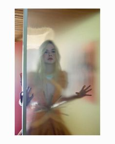 Elle Fanning in Rodarte, by Bill Owens for A Magazine
