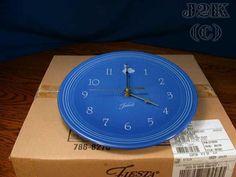 I Need this...                                                     Life is a Fiesta » FIESTAWARE FIESTA® SAPPHIRE CLOCK - FIRST- NIB