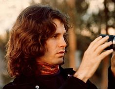 Mr. Mojo Risin, behind the camera... RIP Jim Morrison (December 8, 1943 - July 3, 1971)