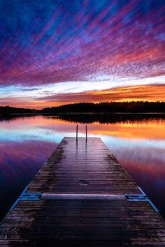 Colorful lake by Fredrik Karlsson on 500px