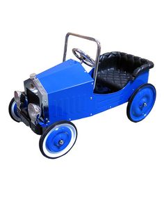 Look what I found on #zulily! Blue Voiture Classic Pedal Ride-On #zulilyfinds