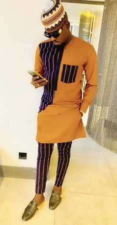 Latest African Wear For Men, Latest African Men Fashion, African Shirts For Men, Nigerian Men Fashion, African Dresses Men, African Attire For Men, African Clothing For Men, Latest African Fashion Dresses, Mens Clothing Styles