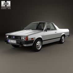 Subaru BRAT 1981 3d model from humster3d.com