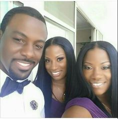 Lance Gross w/his twin sisters Staci & Traci My Black Is Beautiful, Beautiful Family, Black Love, Black Men, Beautiful People, Black Actors, Black Celebrities, Beautiful Celebrities, Celebrity Siblings