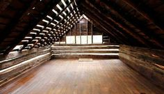 Attic od the log cabin at Innsbrook -- Innsbrook Resort MO Missouri