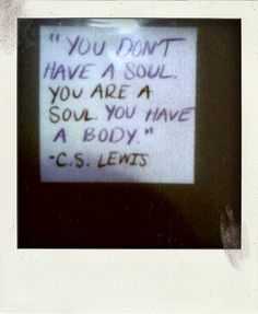 c.s. lewis spoke only truth. :)