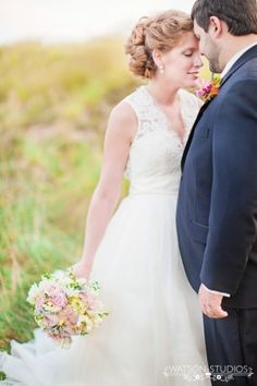 Such a lovely bride and groom photo! | photo by Watson Studios | see more https://www.thebridelink.com/vendor/watson-studios