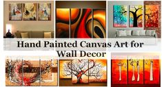 Simple Modern Wall Art Paintings, Multiple Canvas Paintings, Acrylic Paintings for Living Room, Abstract Paintings for Dining Room, Modern Paintings for Bedroom Multiple Canvas Paintings, Canvas Paintings For Sale, Acrylic Paintings, Art Paintings, Modern Paintings, Paintings Online, Acrylic Artwork, Living Room Canvas Painting, Hand Painting Art