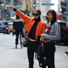 Inspiração fashion para looks de academia? Com as irmãs Hadid não tem erro. Confira o que as it girls do momento usam para se exercitar.
