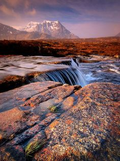 Sron na Creise from above the 'Cauldron' on Rannoch Moor, Scotland via Flickr.