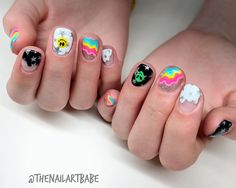 Elegant Nail Art, Trendy Nail Art, Subtle Nails, Funky Nails, Tape Nail Art, Nail Art Diy, Nail Stencils, Valentine Nail Art, Gelish Nails