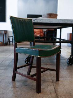 1stdibs.com   A Pair of Custom Kaare Klint Chairs, Denmark 1937
