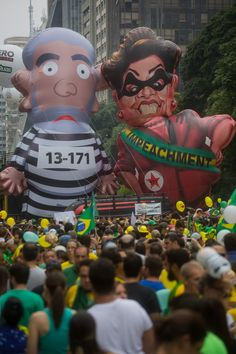 23 Stunning Pictures From The Massive Protests Against Corruption In Brazil