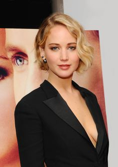 Jennifer Lawrence - hermoso corte!