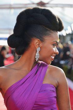 La coiffure pro de  Teyonah Parris.