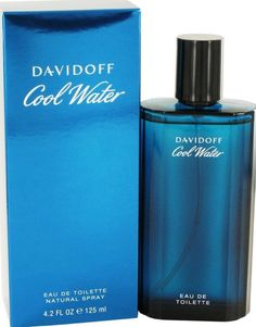 COOL WATER by Davidoff 4.2 oz / 125 ml EDT Cologne Spray for Men New in Box #Davidoff