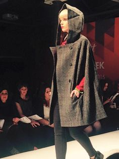 Birkin Dusk, Hooded, Harris Tweed cape Fall Winter, Autumn, Harris Tweed, Birkin, Dusk, Hoods, Cape, Dresses, Fashion