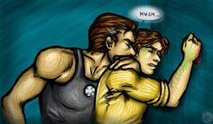 The Avengers (MCU) - Tony Stark x Bruce Banner - Stanner