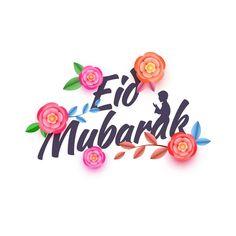 Eid Mubarak , Flowers , Picture