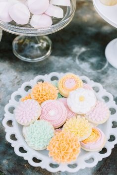 Flower Sugar Cookies - Jenny Cookies
