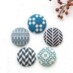 Cross Stitching, Cufflinks, Stud Earrings, Diy Crafts, Crafty, Embroidery, Sewing, Accessories, Jewelry