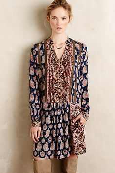 Paquerette Shirtdress #anthropologie