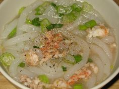 Banh Canh - Vietnamese udon noodle soup