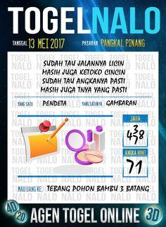 Keluaran 6D Togel Wap Online TogelNalo Pangkal Pinang 13 Mei 2017