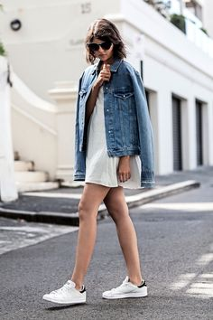 A Blogger's Casual Cool Take On The Slip Dress (Le Fashion)