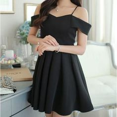 Off-Shoulder A-Line Dress from #YesStyle <3 Fashion Street YesStyle.com