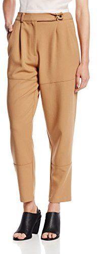 Daniella Kallmeyer Women's Patch Front Trouser 4 Tan