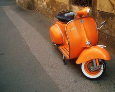 Vintage scooter, seen in Croatia by silvi´ / http://sarthouse.tumblr.com/post/30091344829/silvi-croatia-3