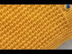 FARE DİŞİ ÖRGÜ MODELİ - YouTube Baby Knitting Patterns, Knitting Designs, Stitch Patterns, Knitting Videos, Knitting For Beginners, Youtube Model, Guerilla Knitting, Diy General, Girls Near Me