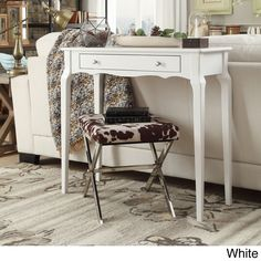 $119 Daniella 1-drawer Wood Accent Console Sofa Table by iNSPIRE Q Bold - Free Shipping Today - Overstock.com - 17106570