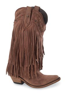 Boots I LOVE!!!   Vegas Fringed Tall Boots