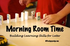 My two youngest children have outgrown our long-time homeschool habit of morning room time. Today I am sharing the benefits of this habit I've seen in all my children. But first, a short recap to answer, What is Morning Room Time? What About the Little Ones? …Morning Room Time. This is when the two younger ones spent half an hour to 45 minutes of alone,