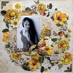 Specialists in Kaisercraft scrapbooking products Beach Scrapbook Layouts, Scrapbook Layout Sketches, Scrapbooking Layouts, Flourish, Mixed Media Art, Floral Wreath, Girly, Paper Crafts, Whisper
